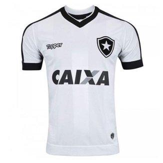 23f5c582db57c Camisa Topper Botafogo III 2017 Com Patrocínio In Masculina