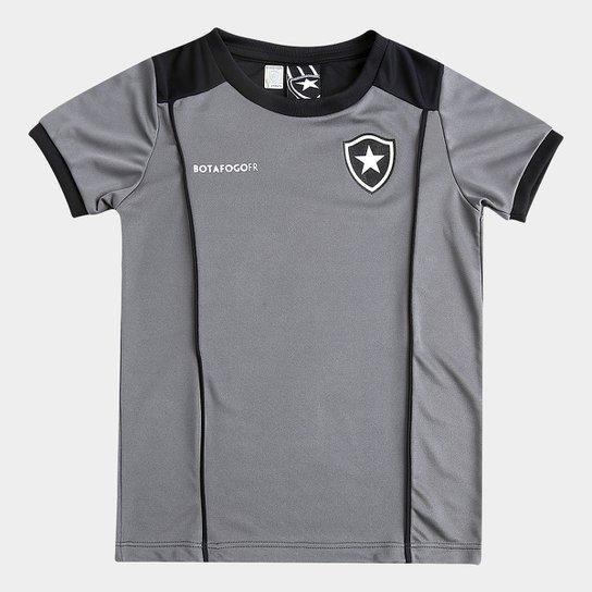 ebf692a933 Camiseta Botafogo Infantil Slide - Cinza e Preto - Compre Agora ...