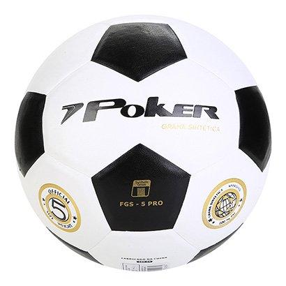 Bola de Futebol Society Poker Vulcanizada