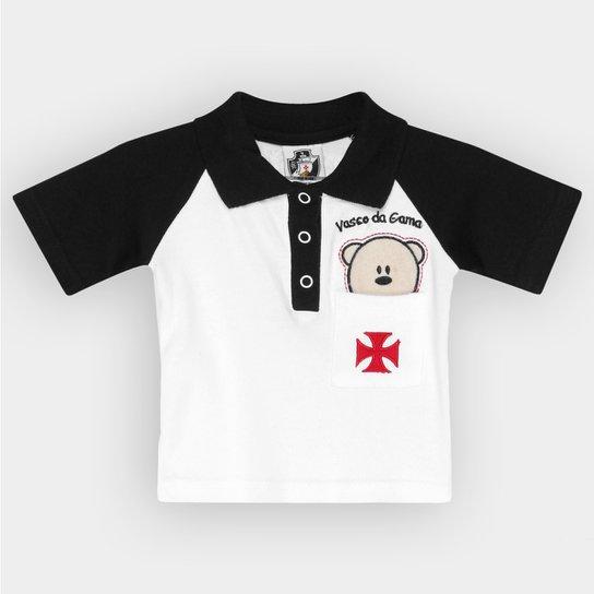 Camisa Polo Infantil Vasco Bebê Urso - Compre Agora  d621ec461b1bc