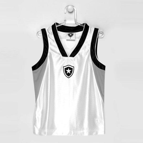 Camiseta Regata Botafogo Trilobal Basket Infantil - Compre Agora ... 3cdd123c270df