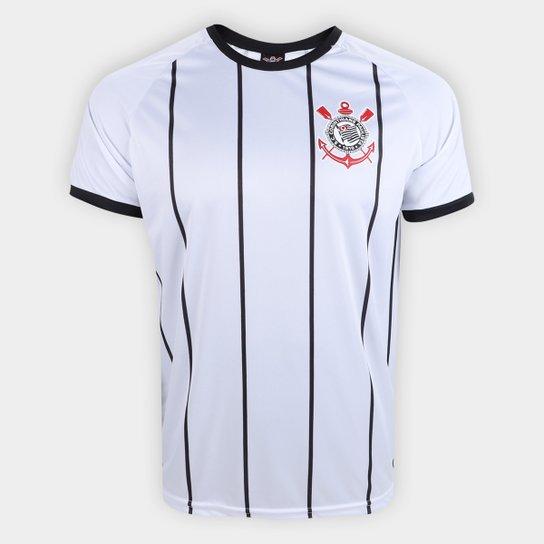 044b9aae086 Camisa Corinthians Fenomenal - Edição Limitada Torcedor Masculina - Branco+ Preto
