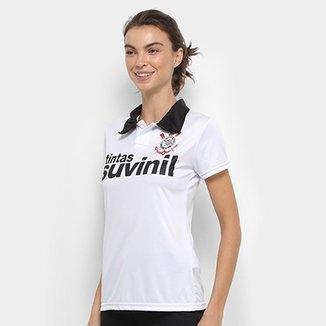 Camisa Polo Corinthians 1995 n° 9 Feminina 97565aad04937