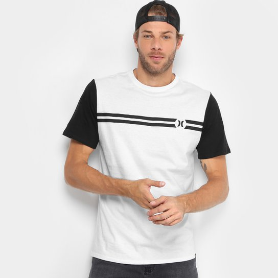 Camiseta Hurley Block Party Masculina - Compre Agora  24d4ac1dd69