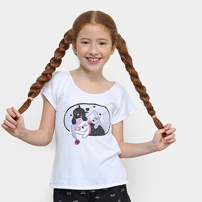 Pijama Infantil Lupo Eureka Curto Feminino