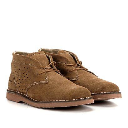 Sapato Casual Couro Kildare Filey Camurça Cano Médio Masculino