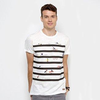 704263c77 Camiseta Colcci Estampada Laranja em 2018 Products t