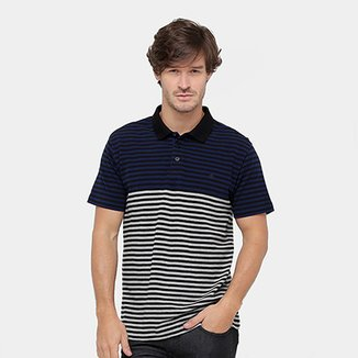 Camisa Polo Forum Listras Masculina 1208a63212044