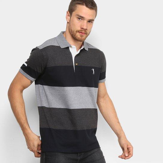 Camisa Polo Aleatory Listrada Fio Tinto Masculina - Compre Agora ... bba9522e9106e