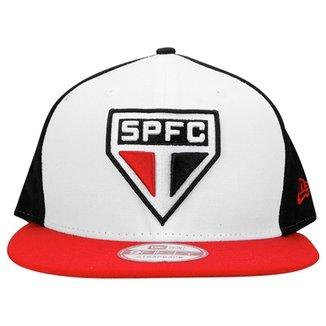 Boné New Era São Paulo Aba Reta 9FIFTY 57226d581a7