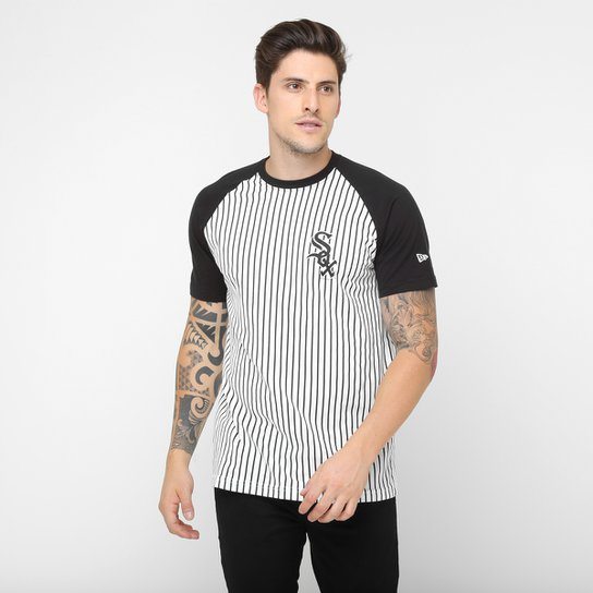 38fa316969 Camiseta New Era MLB Stripe Chicago White Sox - Compre Agora