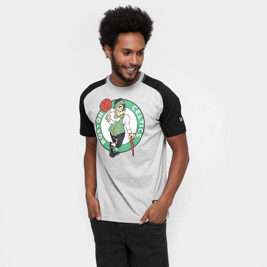 Camiseta New Era NBA Heather Logo Boston Celtics - Compre Agora ... 17bd6163f512d