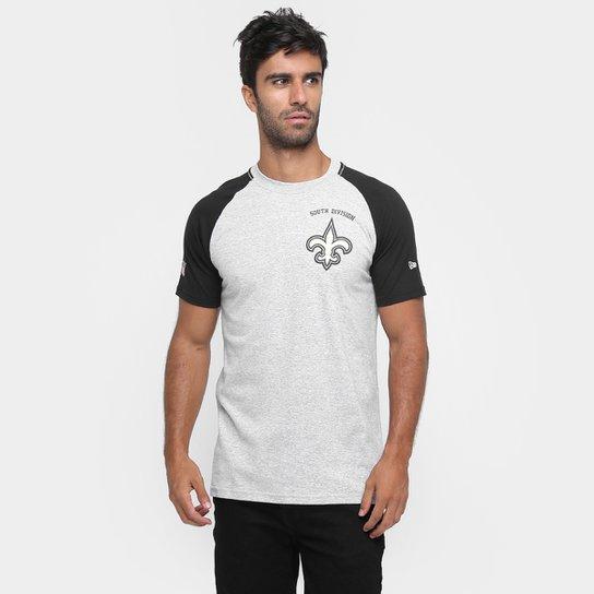 fd7a1295a998d Camiseta New Era NFL Division New Orleans Saints - Compre Agora ...