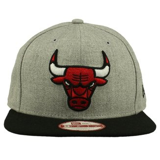 71df0d95c0015 Boné New Era 950 Of Sn Chicago Bulls Htrgry Blk