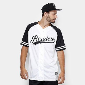 Camisa NFL Oakland Raiders New Era Letter Masculina 7a02bd850198d