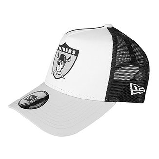 a54bbd06c0186 Boné New Era NFL Oakland Raiders Aba Curva 940 Af Sn Lic2042 Fa