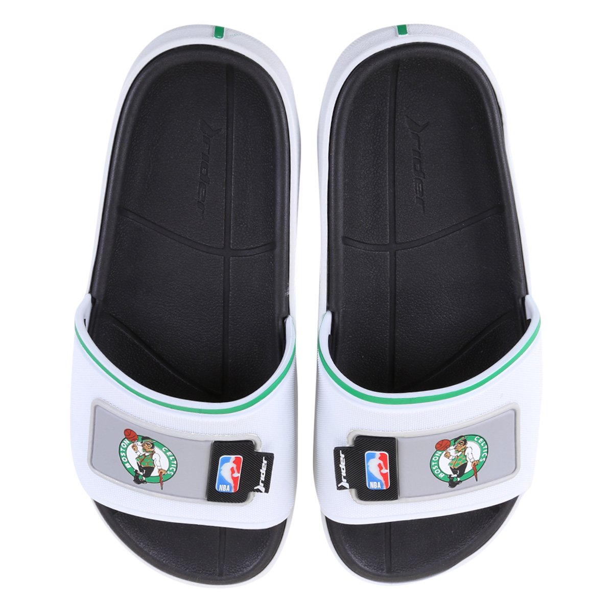 Chinelo Rider NBA Block Slide Ad Boston Celtics Masculino