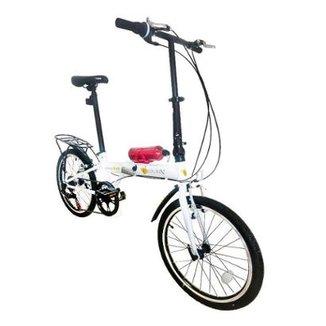 db4cffd6c Bicicleta Dobrável Pelegrin Tempo 3.0 Aro 20