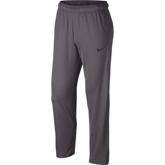 Calça Nike Epic Knit Masculina - Cinza e Preto - Compre Agora  f17bb833c3cd7
