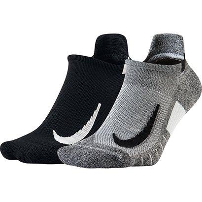 Meia Nike Sem Cano Multiplier Pacote C/ 2 Pares