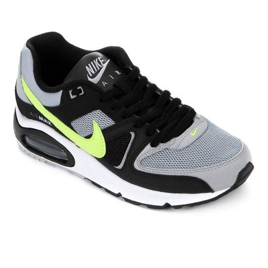 save off 68f67 7f595 Tênis Nike Air Max Command Masculino - Cinza+Preto