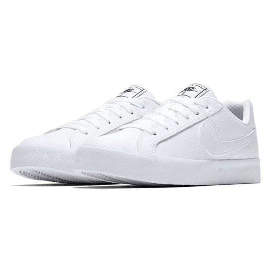 0fc23e46e8 Tênis Nike Court Royale Feminino - Branco e Preto - Compre Agora ...