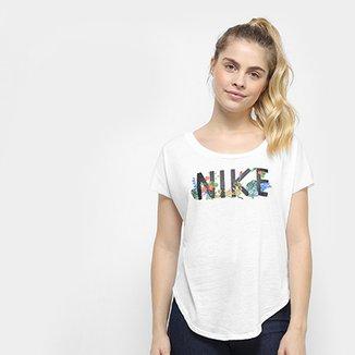 Blusa Nike W Nsw Top Ss Hyper Feminina 1a830fd2951