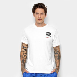 c852f7bada5c0 Compre Camisa da Nike de Algodao Masculina Online