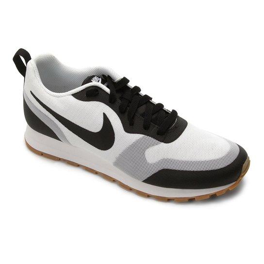d1d1899268c Tênis Nike Md Runner 2 Masculino - Branco e Preto - Compre Agora ...