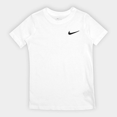 Camiseta Infantil Nike B Nsw Tee Emb Swoosh-Ar Masculina
