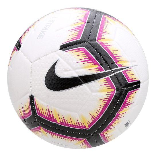 fe478f2d8ae9d Bola de Futebol Campo Nike CONMEBOL Strike I - Branco e Preto ...