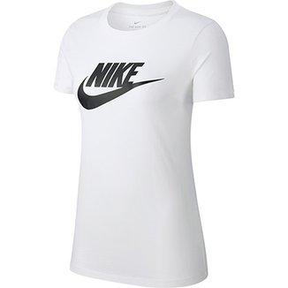 22039ec917 Camiseta Nike Essentials Icon Futura Feminina