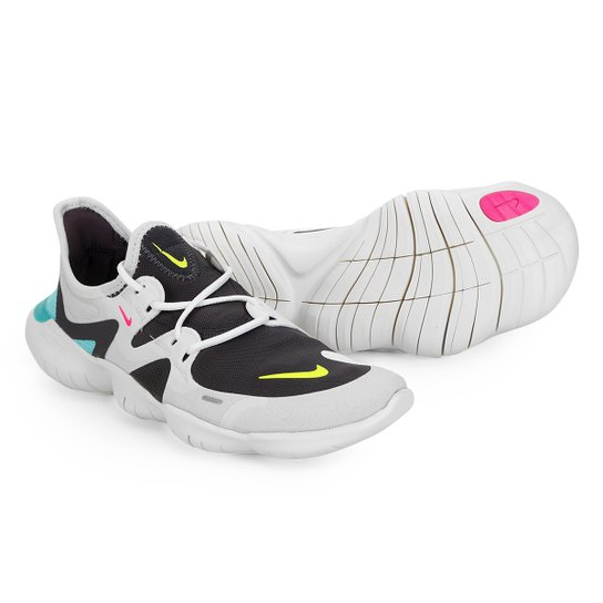 57b3aecacb0 Tênis Wmns Nike Free Rn 5.0 Feminino - Cinza e Chumbo - Compre Agora ...