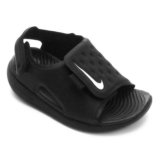 96f345e53 Sandália Infantil Nike Sunray Adjust 5 - Preto e Branco | Netshoes