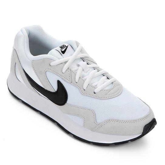 65c1f9ff58 Tênis Nike Delfine Feminino - Branco e Preto   Netshoes