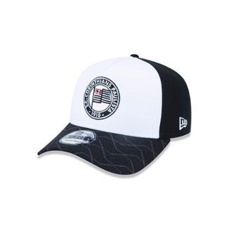Compre Bone New Era 59fifty Time Corinthians 1910 Cinza Online ... 782c361d8d917