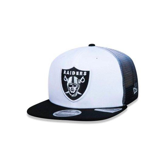 Boné 950 Oakland Raiders NFL Aba Reta New Era - Compre Agora  bb5b1367fcb02