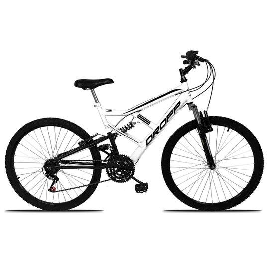 7a4b44fb79092 Bicicleta Aro 26 DROPP FULL 18 Marchas Freio V-Brake - Compre Agora ...