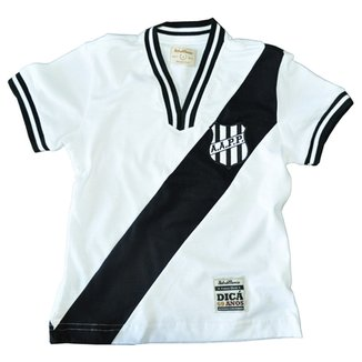 18a83b715bb07 Camisa Retrô Mania Infantil Ponte Preta 1977 Preta