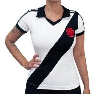 Camisa Retrô Mania Vasco da Gama 1988 Feminina 2bf379915c6a9