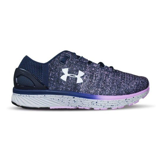 ad1e3a39bc Tênis Under Armour Charged Bandit 3 W - Azul e Pink - Compre Agora ...