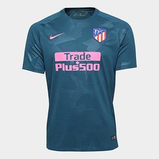 b203f998831e0 Camisa Atlético de Madrid Third 17 18 s n° - Torcedor Nike Masculina