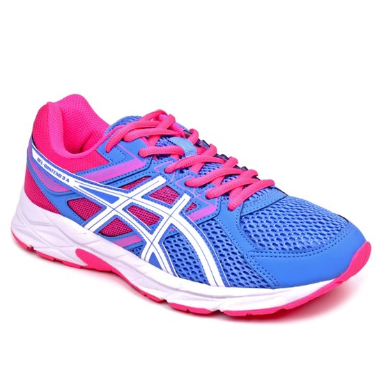 b5337a876c450 Tênis Asics Gel Contend 3 Masculino - Azul e Pink - Compre Agora ...