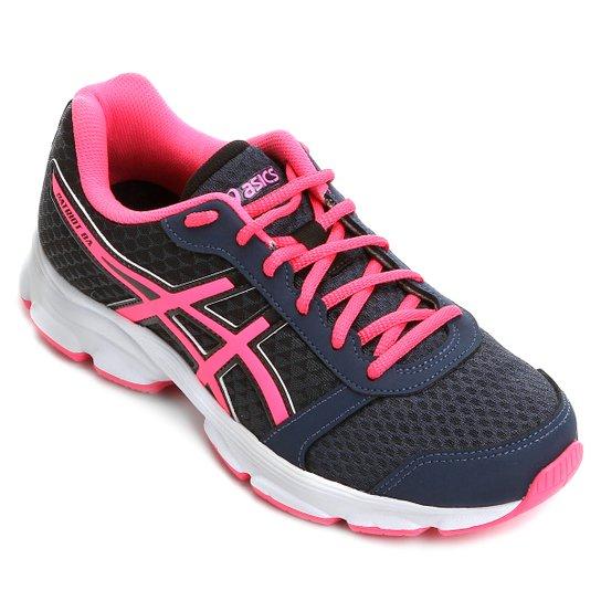 5f7892c045 Tênis Asics Patriot 8 Feminino - Azul e Pink - Compre Agora
