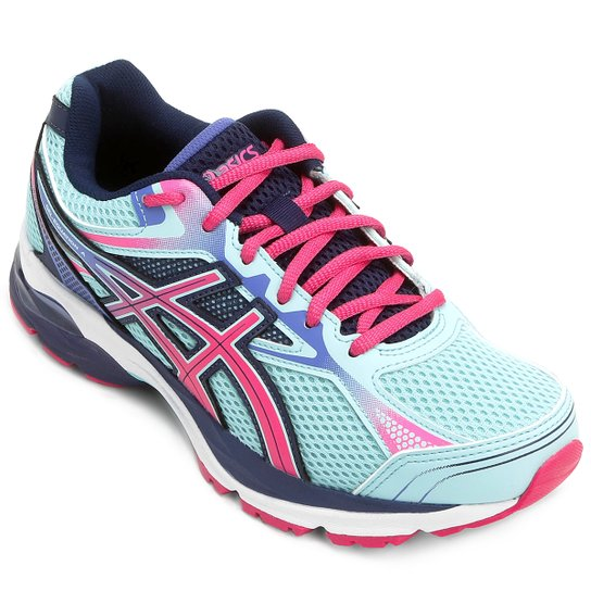 180a1724f5c Tênis Asics GEL Equation 9 Feminino - Azul e Pink - Compre Agora ...