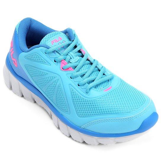 ef486923db Tênis Fila Escape Feminino - Azul e Pink | Netshoes