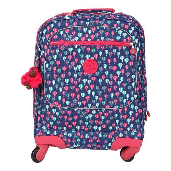 7cf2d2d5c Mochila Kipling Licia Feminina - Azul e Pink   Netshoes