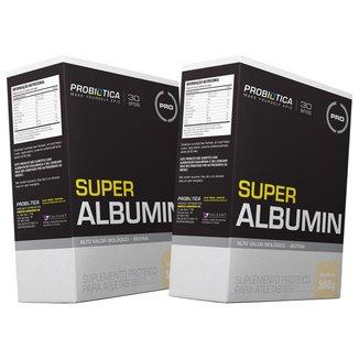 2x Albumina - Super Albumin - 500g - Probiótica