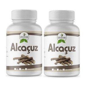 2x Alcaçuz Original 500mg Uniervas 100cps