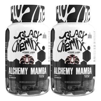 2x Alchemy Mamba - Black Chemix - Under Labz